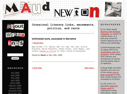 Maude Newton blog clip