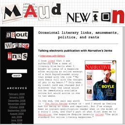 Maude Newton Blog