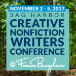 Sag Harbor Creative Nonfiction Writers Conference