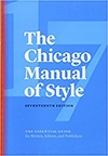 The Chicago Manual of Style by the University of Chicago Press